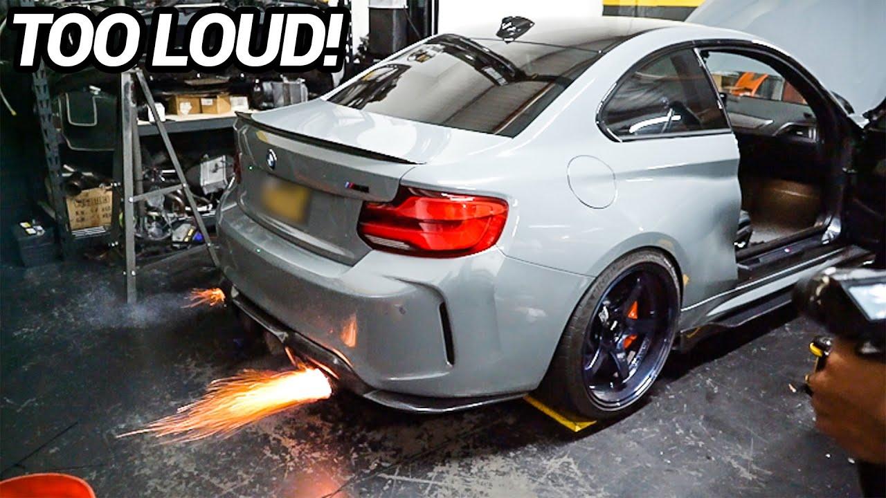 FRESHKICKS LOUD BMW M2 VALVETRONIC EXHAUST INSTALL!! (INSANE!)