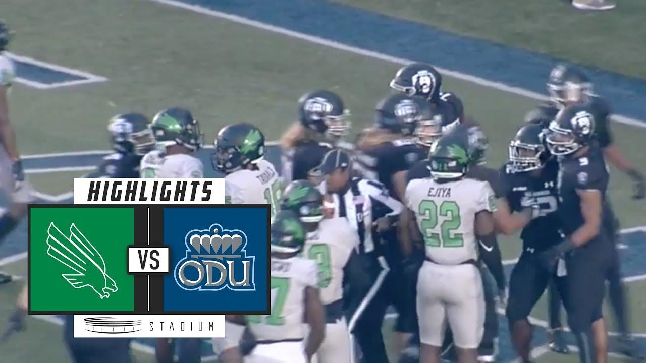 North Texas vs  Old Dominion Football Highlights (2018) | Stadium