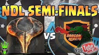 WHO WILL MOVE TO THE FINALS! - NDL Semi Finals: Kronos vs Dragon Rejects! - Clash of Clans