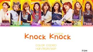 TWICE  - Knock Knock |Sub. Español + Color Coded| (HAN/ROM/ESP)