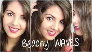 hair tutorial   effortless tousled waves ft ghd lemon styler