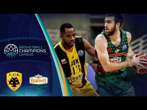 AEK v Banvit - Full Game - Basketball Champions League