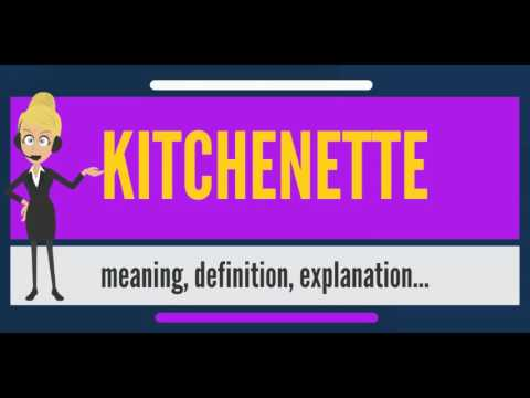 What Is Kitchenette Does Mean Meaning Definition Explanation