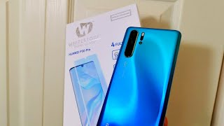 Best Huawei P30 Pro Dome Glass Protector With Full Adhesive Glass & Case Testing By WhiteStone