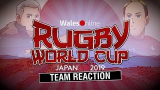 Rugby World Cup 2019| Wales v France team reaction