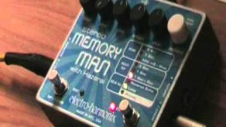 Electro Harmonix Memory Man with Hazarai  -  Reverse Loop -