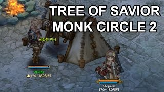 Tree of Savior Monk & Squire C2 Level 195 Gameplay Duo Grind