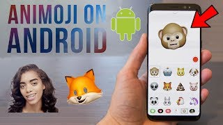 iPhone X Animoji Feature on Android! 2017 🔥