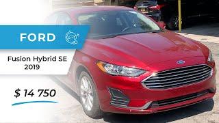 Обзор авто с аукциона Manheim Ford Fusion Hybrid SE 2019 за 14750 $
