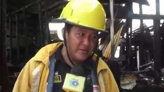 Incendio Consume 4 Humildes Viviendas en el barrio Santa Rosa de Bluefields.