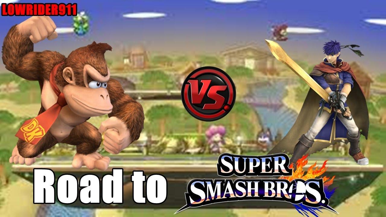 Road to SSB4! #14 ( Project M - Donkey Kong vs Ike) - YouTube