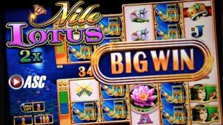 Video NILE LOTUS   WMS - SUPER BIG WIN!! 20 Spins Double Money Burst Slot Machine Bonus download MP3, 3GP, MP4, WEBM, AVI, FLV Mei 2018