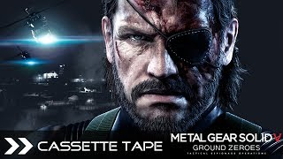Metal Gear Solid 5 Ground Zeroes MGSV - Cassette Tape (Chico