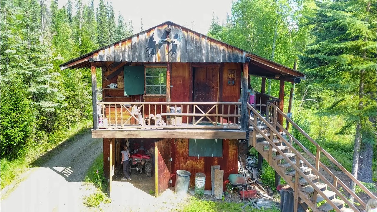 best remote fishing cabin in alaska