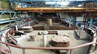 Конвейерный цех судостроительного завода имени Кирова