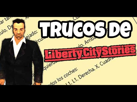 TODOS LOS TRUCOS DE LIBERTY CITY STORIES (PSP | PLAYSTATION)