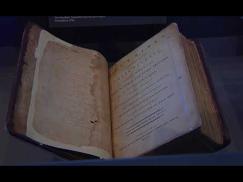 Historic Bibles Dating Back To America's Founding On Display In Manhattan