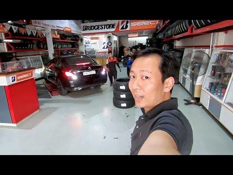 Mua Xe Mới Cần Làm Gì - Phần 3 Đổi Lốp Runflat Của Xe Mercedes