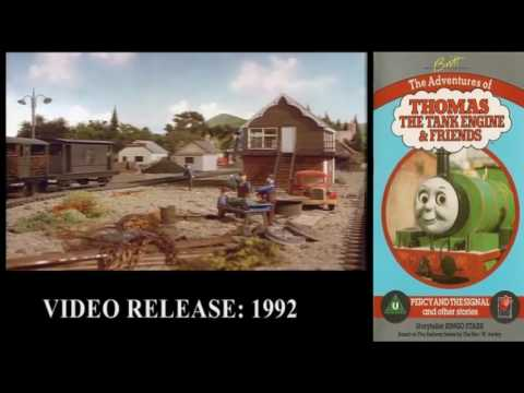Thomas The Tank Engine - Gondarth's Complete VHS and DVD Collection!