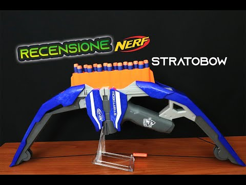 Recensione Nerf Stratobow Ita || Il Mio Secondo Arco Nerf!!