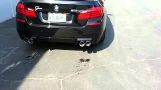 BMW F10 звук выхлопа M5(Отменный звук выхлопа BMW M5 Только самые интересные видео в мире дрифта, автомобилей и гонок!! Подписываемся..., 2016-02-04T09:47:15.000Z)