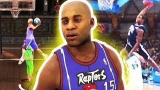 VINCE CARTER CONTACT DUNKS | POSTERIZERS!?! NBA 2K17