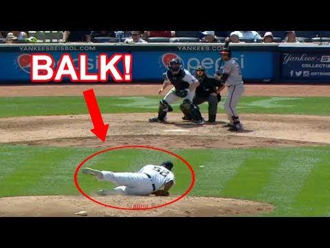 MLB   BALK OFFS!   1080p HD
