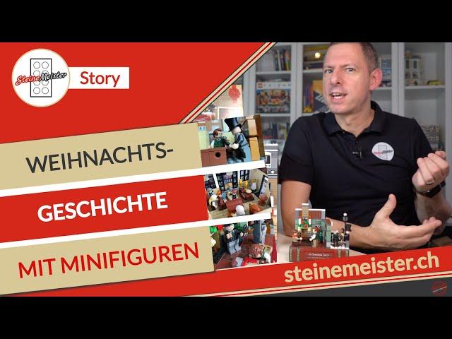 Die Nacht vor Weihnachten - Weihnachtsgeschichte mit Lego® Minifiguren (Lego® Christmas Carol 40410)
