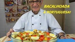 BACALHAU (RECEITA DE BACALHAU – BACALHOADA À PORTUGUESA!)