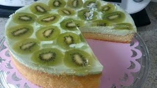 Thermomix® TM31® / TM5® - Waldmeister Kiwi Torte