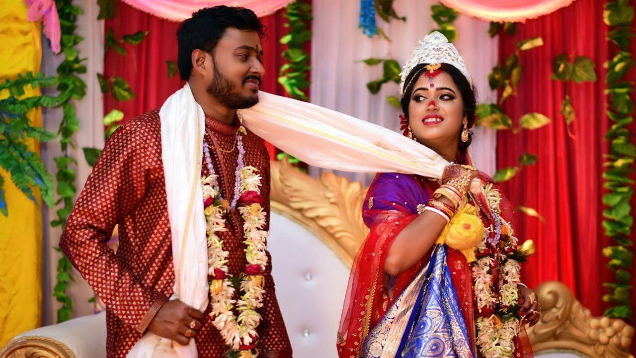 Cinematic Bengali Wedding Video   Suman weds Sangita   Red Carpet