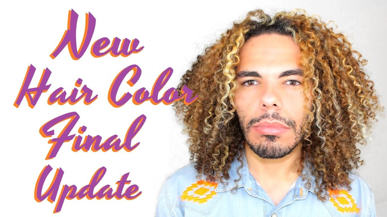 Final Update Color Talk I Dyed Bleached My Curly Hair From Brown To