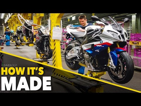 BMW S1000RR + Bikes Production Line - HOW IT'S MADE