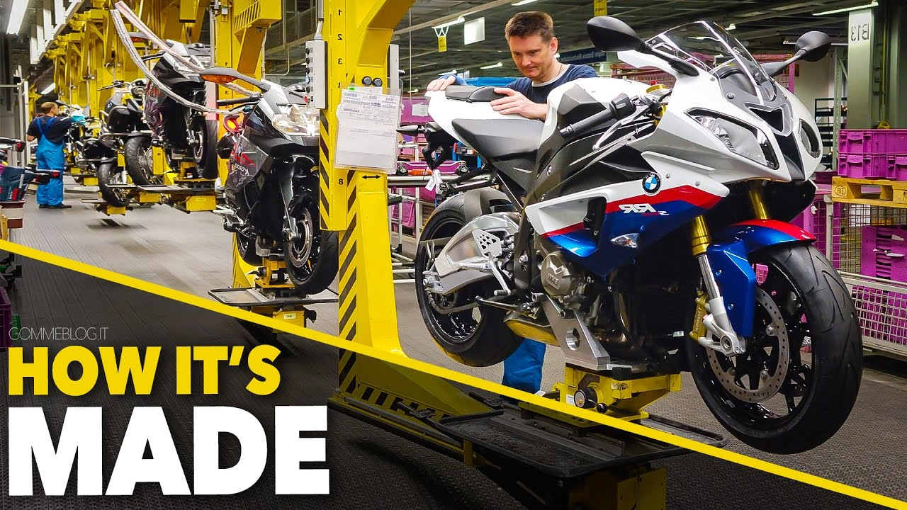 Bmw S1000rr Bmw Bikes Production How Its Made
