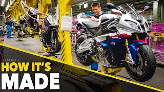 BMW Bikes Production HOW ITS MADE