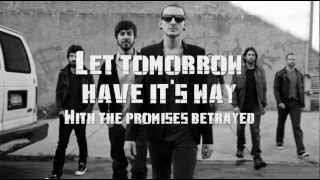 Linkin Park - Skin to Bone (Lyrics on Screen) [Living Things]