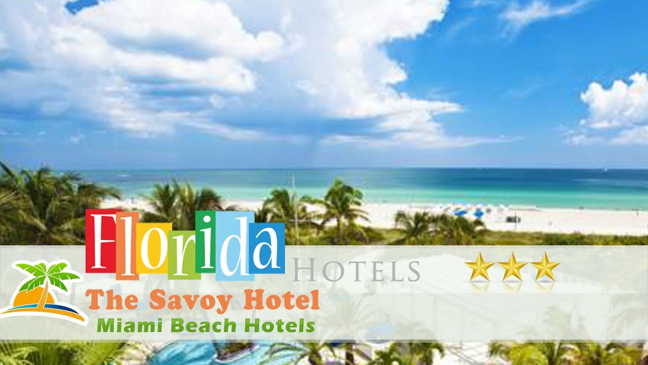 The Savoy Hotel Miami Beach Hotels Florida