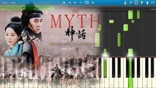 Endless Love - The Myth OST [Piano Tutorial] Synthesia