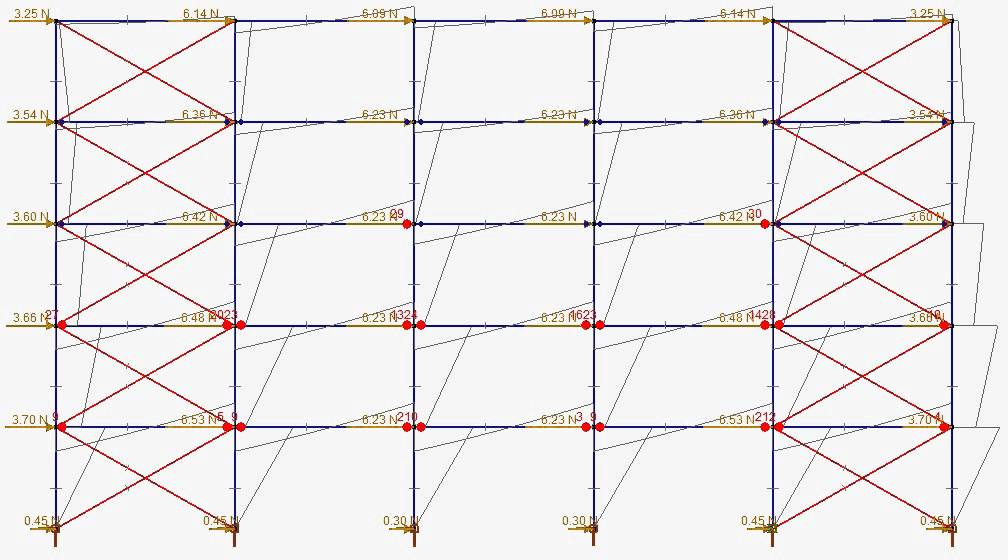 Plastic mechanism of a braced rigid frame - YouTube