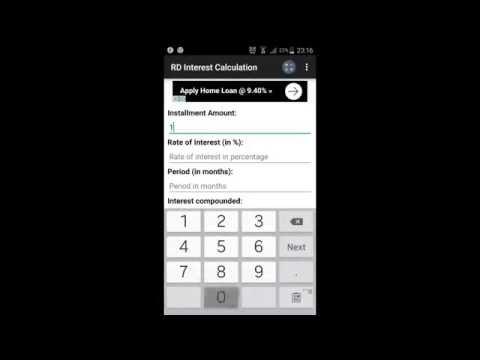 bank interest calculator app