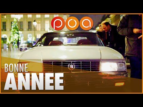 CADILLAC ALLANTE BY NIGHT IN PARIS