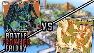 Ultra Necrozma GX vs Zygarde GX Pokemon TCG Matchup | Battle Frontier Friday #48