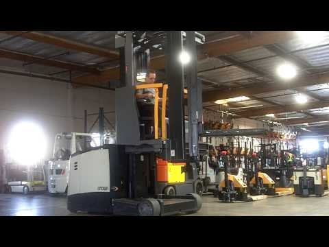 Crown TSP 6000 Series VNA Turret Lift Truck