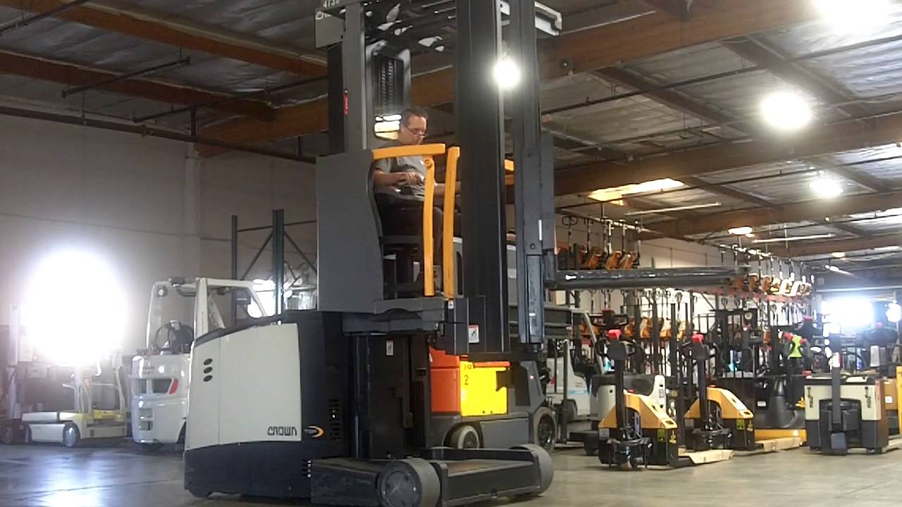 crown forklift usa [ 1280 x 720 Pixel ]