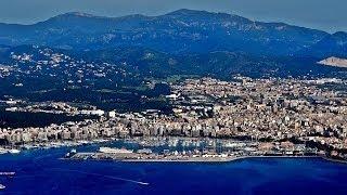 Take off in Palma de Mallorca Airport PMI