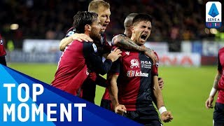 Simeone's INCREDIBLE volley puts Cagliari ahead! | Cagliari 1-2 Lazio | Top Moment | Serie A TIM