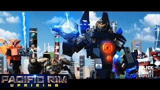 PACIFIC RIM : Uprising in LEGO! Full online stop-motion