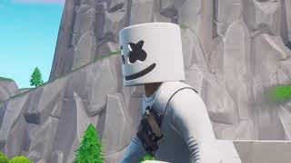 Marshmello Rooftops (Fortnite Music )