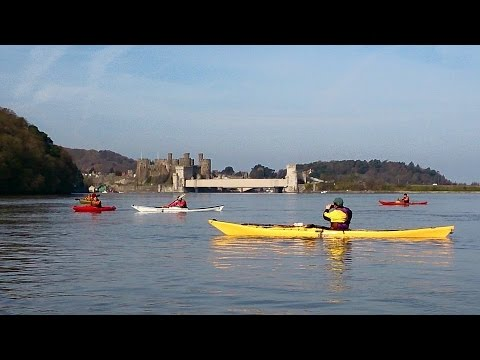 Conwy estuary paddle