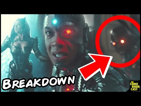 Justice League Official Trailer 1 Breakdown